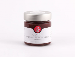 Confettura di Fragoline Sciacca e Ribera Scyavuru
