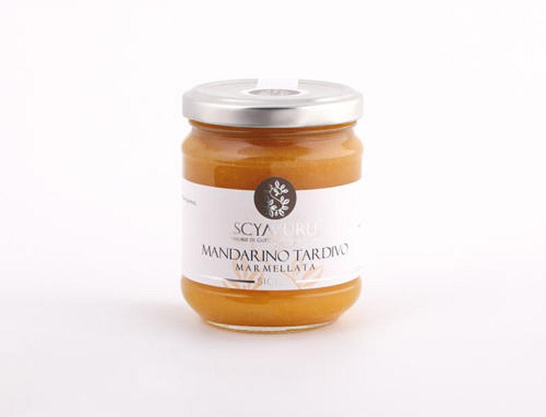 Marmellata di Mandarino Tardivo Scyavuru senza zucchero