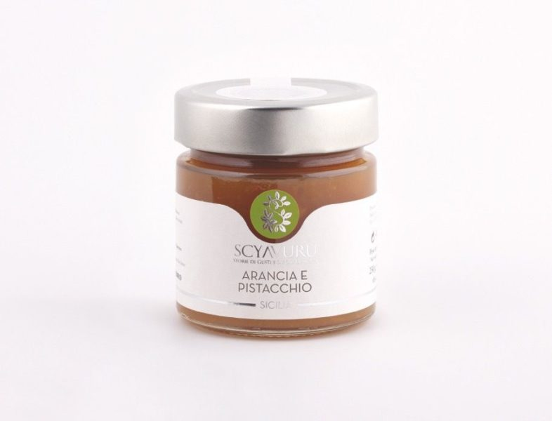 Marmellata di Arancia e Pistacchio Scyavuru