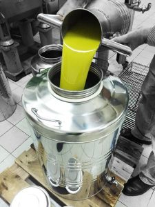 olio extra vergine d'oliva di Castelvetrano
