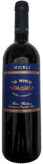 'U nicu Miceli Sicilia IGT