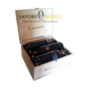 Hedonis IGT Sicilia Legno 6 Bottiglie Feudo Arancio
