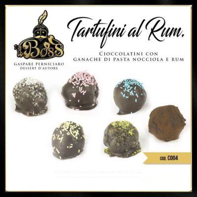 Tartufini al Cioccolato e Rum Pasticcini