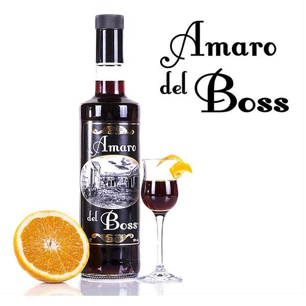 Amaro del boss liquore siciliano tonico e digestivo for Un liquore tonico