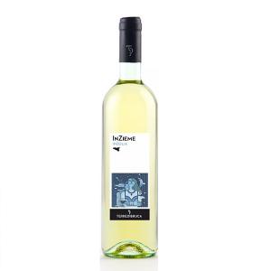 Terre di Bruca InZieme Biologico Inzolia Sicilia. Un vino Biologico siciliano da bere con gli amici appunto inZieme. Il suo nome evidenzia volutamente una 'Z' fuori luogo che racchiude con una lettera l'uva da cui proviene Inzolia.
