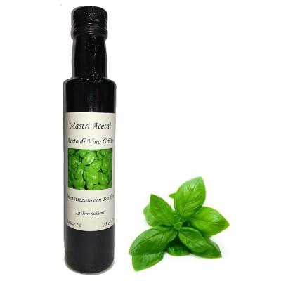 Aceto di Vino Aromatizzato Basilico