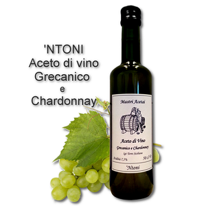 Ntoni Aceto di Vino Bianco Grecanico Chardonnay Mastri Acetai