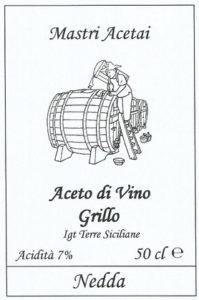Nedda Aceto di Vino Grillo