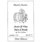 Don Blasco Aceto di Vino Nero d'Avola