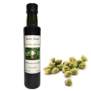 Aceto di Vino Nero d'Avola Aromatizzato Capperi Mastri Acetai