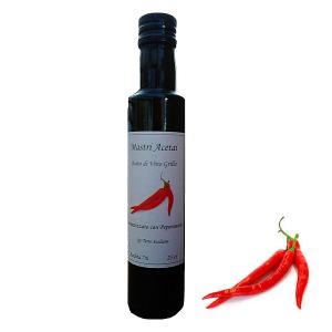 """Aceto di Vino Aromatizzato Peperoncino """"Mastri Acetai"""""""