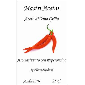 Etichetta Peperoncino Grillo fr