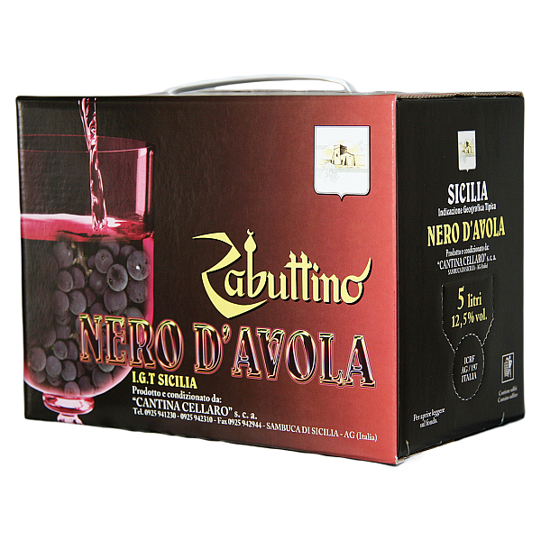 Zabuttino Nero d'Avola Cellaro