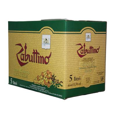 Cellaro Zabuttino Bianco Bag Box Lt 5 Terre Siciliane