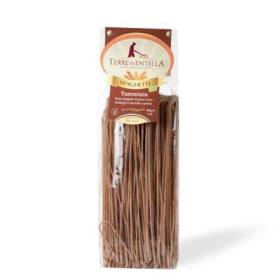 Spaghetti Integrali di Tumminia Pasta di Grano Duro Biologico Siciliano