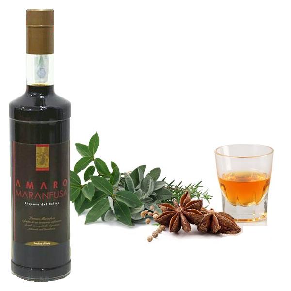 Amaro maranfusa liquore siciliano tonico e dissetante for Un liquore tonico