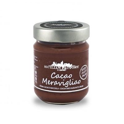 Cacao Meravigliao Crema Gr 220 Sicilian Factory