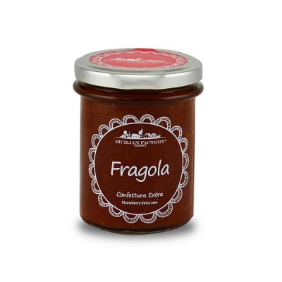 Confettura Extra di Fragola Gr 240 Sicilian Factory