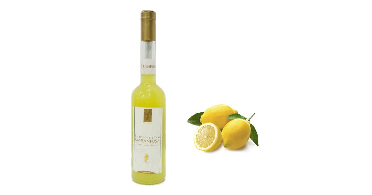 Limoncello siciliano maranfusa cl 50 limoni siciliani for Un liquore tonico