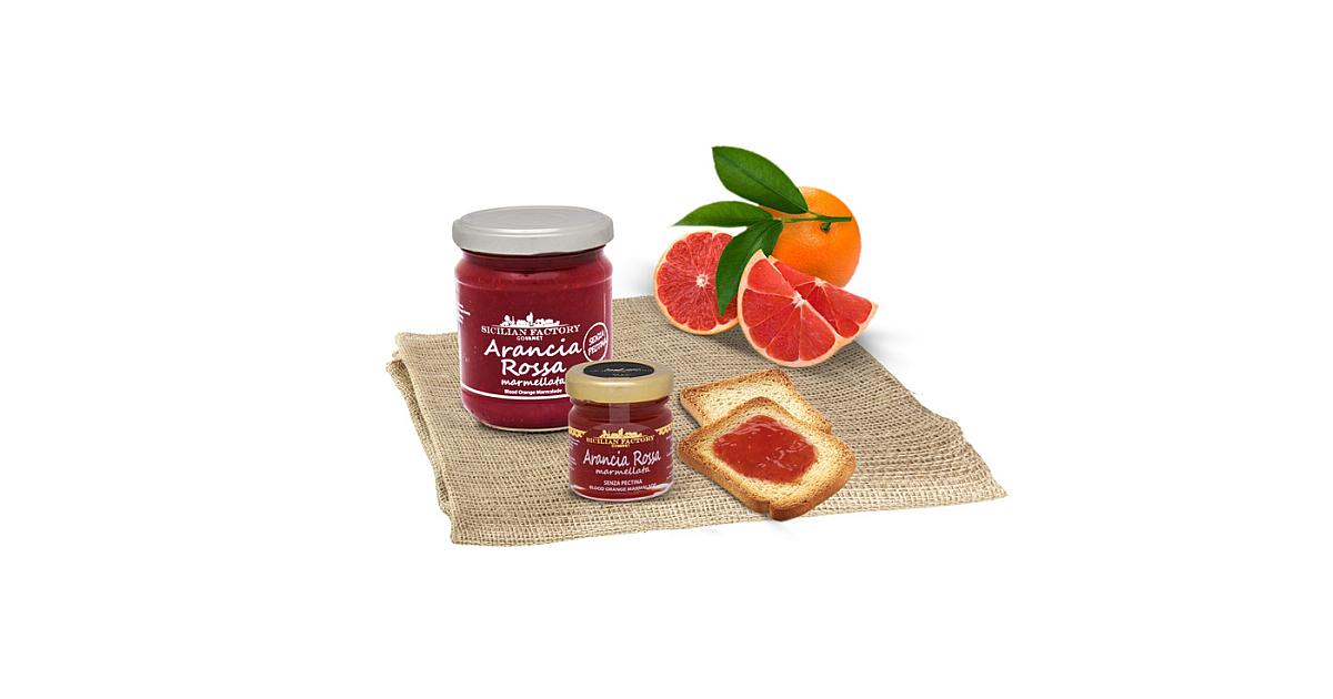 Marmellata di Arancia Rossa Sicilian Factory Gourmet