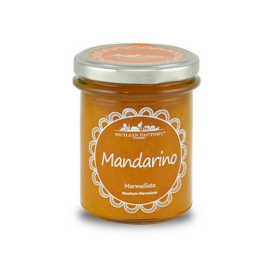 Marmellata di Mandarino Gr 240 Sicilian Factory