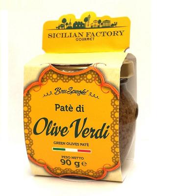 Patè di Olive Verdi Sicilian Factory