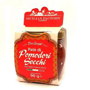 """Patè di Pomodori Secchi Gr 90 """"Sicilian Factory"""" Gourmet"""