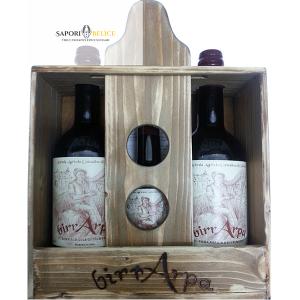 BirrArpa Cassetta di Legno 3 Bottiglie
