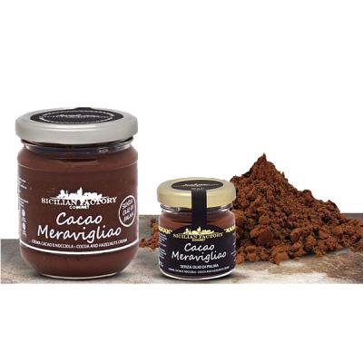 """Cacao Meravigliao Crema Gr 220 """"Sicilian Factory"""" Gourmet"""