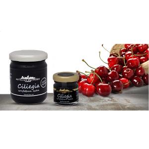 "Confettura Extra di Ciliegia Gr 240 ""Sicilian Factory"" Gourmet"