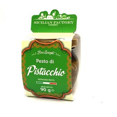 "Pesto di Pistacchio Gr 90 ""Sicilian Factory"" Gourmet"