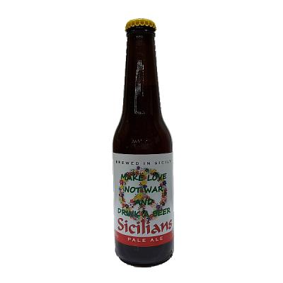 "Sicilian Pale Ale Birra Artigianale ""Birrificio Namastè"""