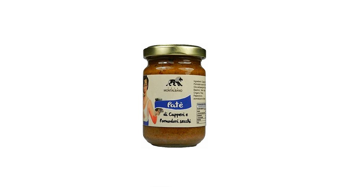 Patè di Olive Verdi Capperi e Pomodori Secchi