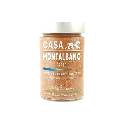 Pesto di Ciliegino Zucchine e Pistacchio Casa Montalbano