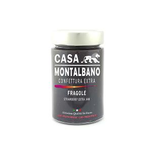 Confettura Extra di Fragole Gr 200 Casa Montalbano