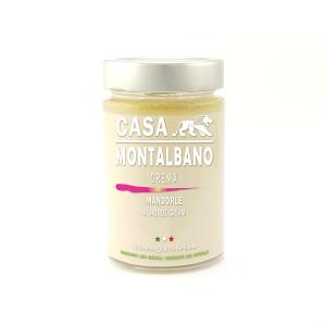 Crema di Mandorle Gr 200 Casa Montalbano
