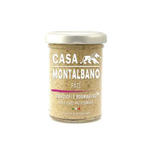 Patè di Carciofi e Rosmarino Gr 90 Casa Montalbano