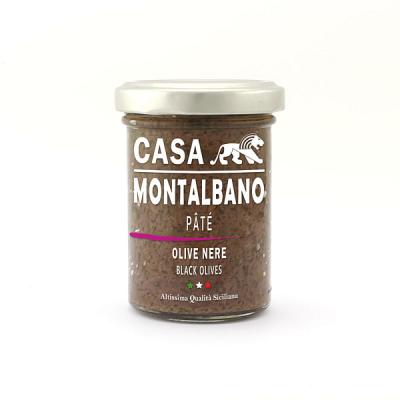 Patè di Olive Nere Gr 90 Casa Montalbano (2)