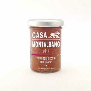 Patè di Pomodori Secchi Gr 90 Casa Montalbano