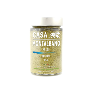 Pesto al Basilico Gr 200 Casa Montalbano
