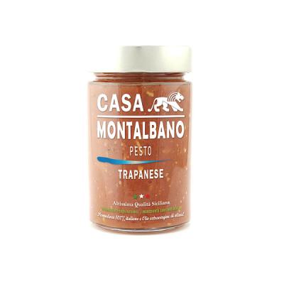 Pesto alla Trapanese Gr 200 Casa Montalbano