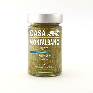 Pesto di Pistacchio Gr 200 Casa Montalbano