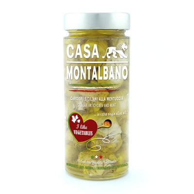 Carciofini Siciliani Sott'Olio Gr 280 Casa Montalbano