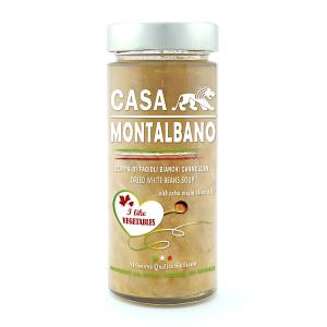 Zuppa di Fagioli Bianchi Cannellini Gr 280 Casa Montalbano