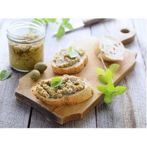 """Patè di Olive Verdi 950 Gr in Olio Extravergine di Oliva """"Casa Montalbano"""""""