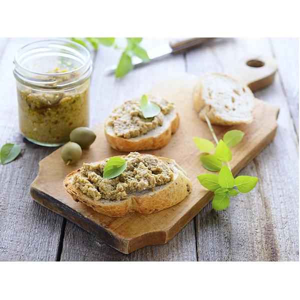 Patè di Olive Verdi 950Gr in Olio Extravergine di Oliva