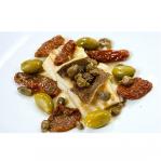 Patè di Olive Verdi Capperi e Pomodori Secchi 950Gr