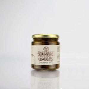 olive-verdi-schiacciate-condite-alla-contadina-contadino di galluzzo