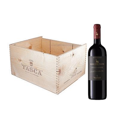 Rosso del Conte DOC Tasca d'Almerita 6 Bottiglie Legno