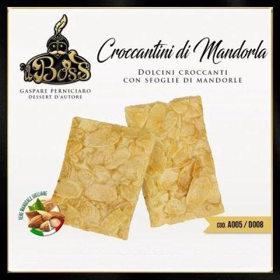 Croccantini Siciliani di Sfoglia di Mandorla gr 600